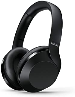 Philips PH802 Wireless Bluetooth Over-Ear Headphones Noise Isolation Stereo with Hi-Res Audio, up to 30 Hours Playtime wit...