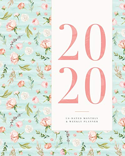 2020 US-Dated Monthly & Weekly Planner: for Women, Features One Line A Day Section | January 2020 – December 2020 Agenda & Diary | 2-Page Weekly Spread, 2-Page Monthly Spread • 8x10'