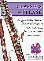 曲集 : クラシック CD付き (ファゴットデュオ) ホフマイスター出版
