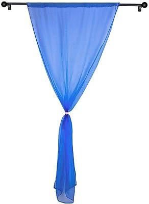 Navy Blue Star Doublé Enfants Chambre à Coucher Rideaux tab top clair de lune 66 X 54