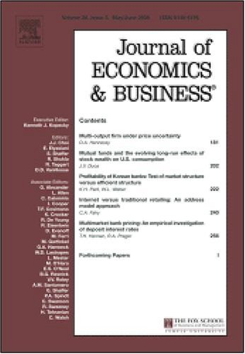 Voluntary (environmental) standards [An article from: Journal of Economics and Business]