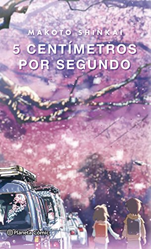 5 centímetros por segundo (novela) (Manga: Biblioteca Makoto Shinkai)