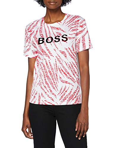 BOSS C_elizera 10232049 01 Camiseta, Open Miscellaneous965, S para Mujer
