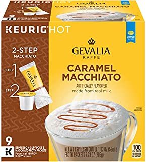 Best gevalia caramel macchiato k cup calories Reviews