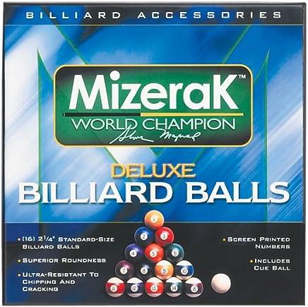 Mizerak P0512 Deluxe Billiard Ball Set B0009IK0SA    Zuverlässige Qualität
