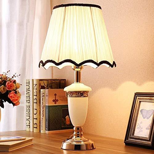 Wuyuana Luz de Techo Lámparas De Mesa Duraderas Lámparas De Escritorio De Imitación Simple Iluminación De Piedra Moderna Lámpara De Mesa Tibia Oro Base De Aluminio