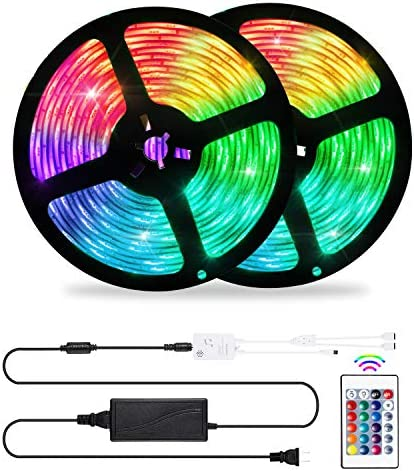 LED Strip Lights Sync to Music OxyLED 32 8ft LED Lights for Bedroom 5050 Led Color Changing product image