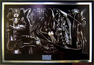 ANIMA MIA By H.R. Giger Framed & Dry mounted Fine Art Poster 37x25