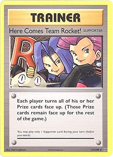 Pokemon - Here Comes Team Rocket! (113/108) - XY Evolutions