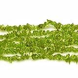 Chips Peridot Jade 3-8mm Perlen zum Auffädeln Naturstein Chips Perlen Approx 80cm Stränge