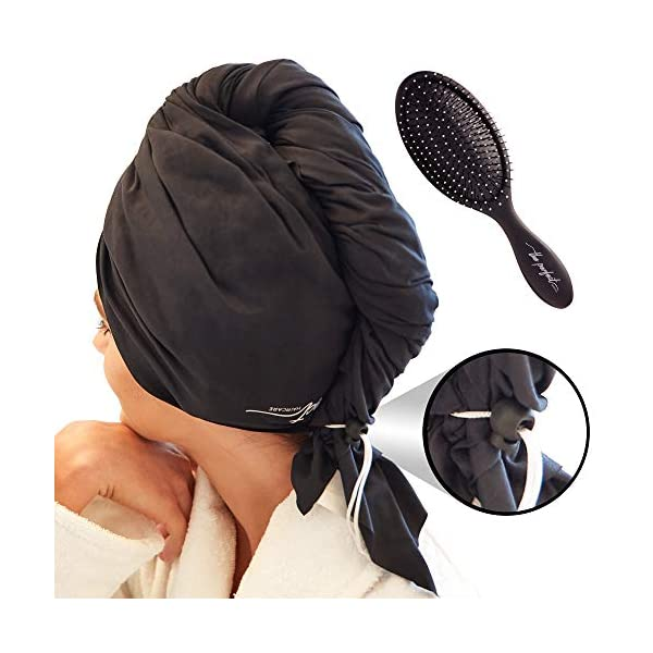 Beauty Shopping Ultra-Fine Microfiber Hair Towel Wrap – The Perfect Haircare