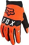 Fox Yth Dirtpaw Glove fluorescent Orange Ym, M