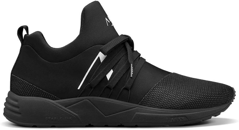 ARKK Copenhagen Men Sneakers Raven Mesh S-E15 All Black White