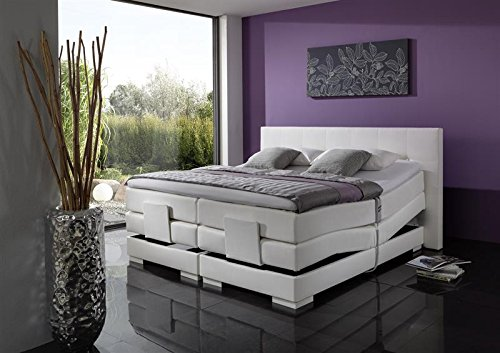 Breckle Boxspringbett 180 x 200 cm Oxford Box Stauraum 1000 TFK Big Topper Gel Premium Comfort
