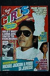 BOYS et GIRLS 255 11 1984 COVER MICHAEL JACKSON AXEL BAUER POSTER JULIEN CLERC MARC LAVOINE