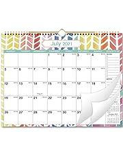 Kalendarz ścienny 2021, kalendarz ścienny na 2021, planer miesięczny od stycznia 2021 roku do grudnia 2021, 37,5 cm x 28,8 cm