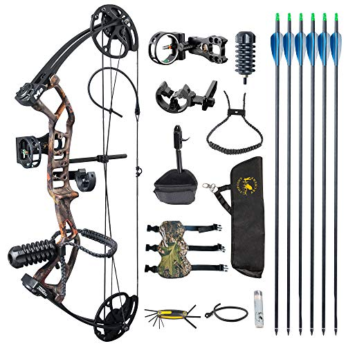 TOPOINT ARCHERY M2 Junior Compound Bow Set Beginners,Youth&Kids Bow Women Bow 17