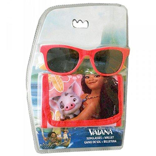 Disney Vaiana - Set Occhiali da Sole con Porta Foglia, WD17837