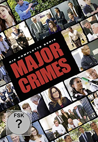 Major Crimes - Die komplette Serie [Alemania] [DVD]