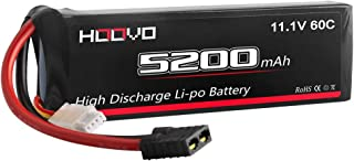 HOOVO 3S 11.1V 5200mAh 60C LiPo Battery Pack with Traxxas Plug for RC Helicopter RC Airplane RC Hobby UAV Drone FPV