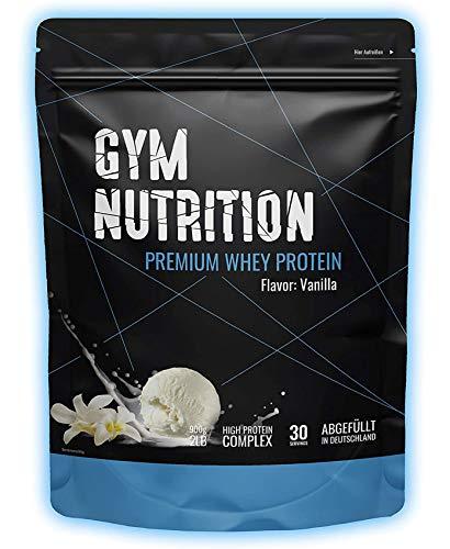 Premium Whey Protein - Eiweißpulver - Laborgeprüft - In Deutschland abgefüllt - Für den Muskelaufbau - Mit Ernährungswissenschaftlern entwickelt (Delicious Vanilla)