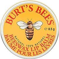 Burt's Bees 500111 100 % naturlig fuktighetsskänkande läppbalsam, original bivax, med vitamin E och pepparmintolja, 8,5 g