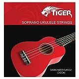 Tiger UAC14 - Juego de cuerdas para ukelele