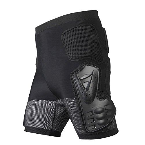 WILDKEN Pantalones Protectores de esquí para Motocicleta, Protectores de Cuerpo Resistente para Motocicleta, Motocicleta, Carreras, Bicicleta, para Hombres y Mujeres (L)
