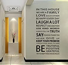 English Words 3D Wall Sticker Original Design DIY Friendly Words Wall Decal Home Decoration
