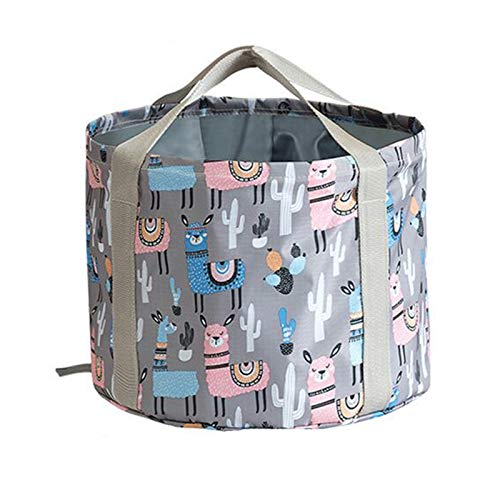 JISHIYU Bañera de pies plegable, lavabo de spa portátil multifuncional plegable cubo de agua para remojar pies, lavar verduras y frutas, al aire libre, camping (tamaño: 35 x 22 cm)