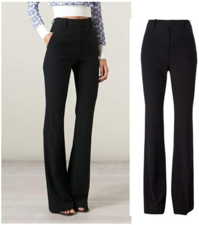 FidgetFidget Pants British Womens High Waist Slim Bodycon OL Ladies Long Stretch Trousers Hot