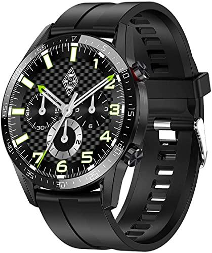 Bengux Smartwatch,Reloj Inteligente con Pulsómetro,Cronómetros,Calorías, Monitor de Sueño, Podómetro de Seguimiento de Actividad Física con Pantalla Táctil para Android iOS
