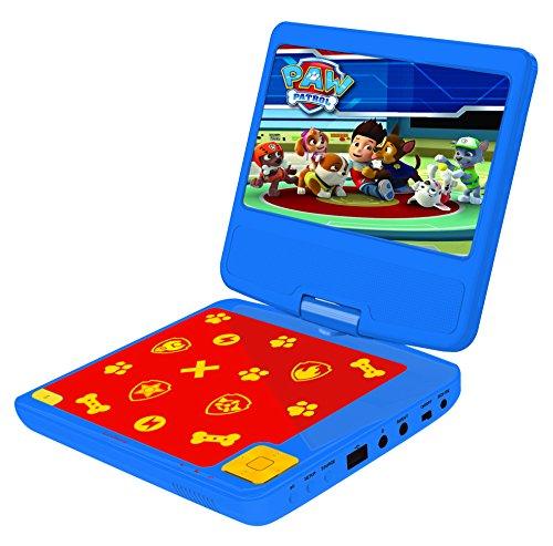 Lexibook Lecteur DVD portable Pat'Patrouille, avec port...