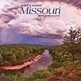 Missouri Wild & Scenic 2021 7 x 7 Inch Monthly Mini Wall Calendar, USA United States of America Midwest State Nature