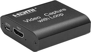 بطاقة يو اس بي مع حلقة لكاميرا تصوير فيديو اتش دي ام اي 4K عالي الدقة 1080 بكسل