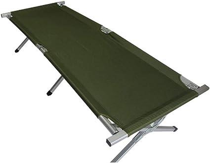 Luqifei Cama Plegable Cama de Camping Cómoda Tumbona de ...