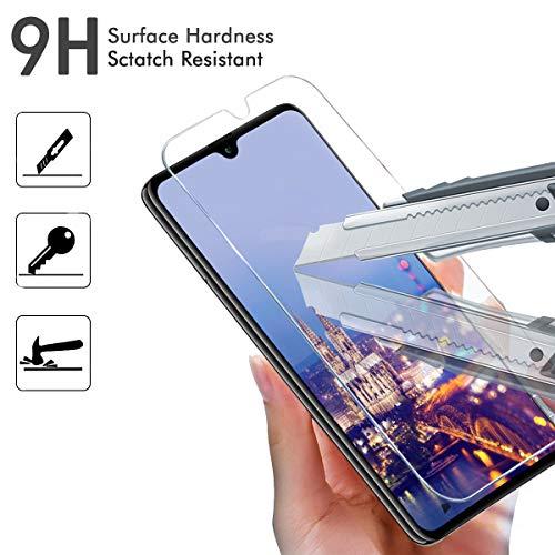 FUMUM Huawei Mate 20 Folie, Premium 9H HD Schutzfolie für Huawei Mate 20 (16,23cm) Schutzglas [Anti Fingerabdruck] Bubble-frei-2 Pack - 2