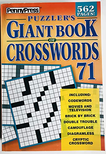 Volume 71 of Penny Press Puzzlers Giant Book of Crossword Puzzles
