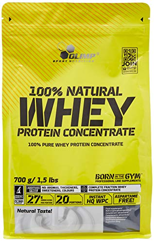 Olimp Labs Natural Whey Protein Concentrate Powder, 700 g