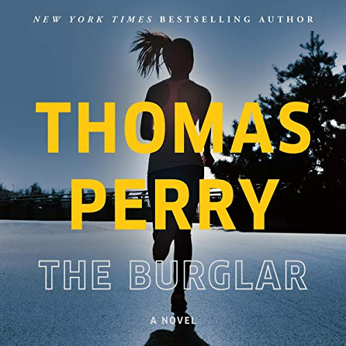 The Burglar audiobook cover art
