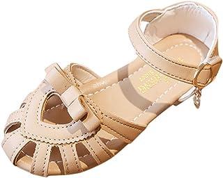 DolceTiger Sandales Bout Ouvert bébé Fille Sandales D'éTé pour Grandes Filles pour Enfants Chaussures De Plage pour Enfant...