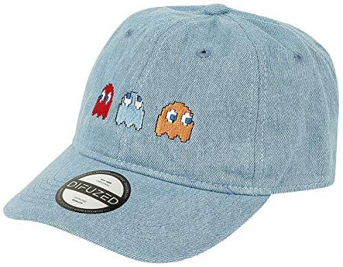 Pac-Man Geist Unisex Cap blau one Size 100% Baumwolle Fan-Merch, Gaming, Retrogaming