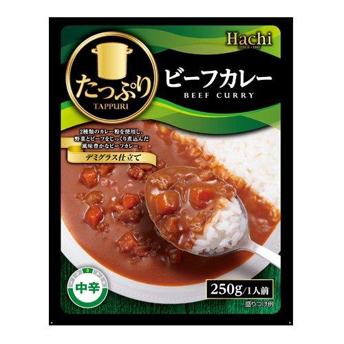 ハチ食品 たっぷりビーフカレー(中辛) 1袋