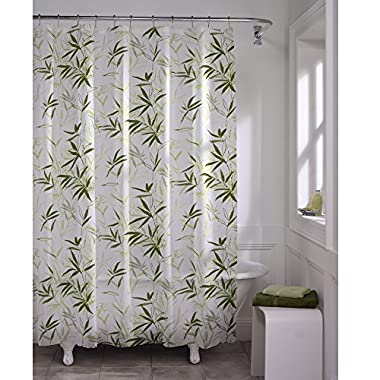 Maytex Zen Garden Waterproof PEVA Shower Curtain