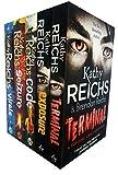 Kathy reichs virals series 5 books collection set (virals, seizure, code, exposure, terminal)