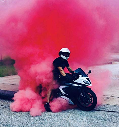 Hawwwy Colorful Powder for Gender Reveal Powder Burnout Baby Girl Announcement Colored Tannerite Surprise Holi Fun Game Motorcycle Exhaust Car Tires Truck Photography Packets (Pink 2lbs)