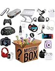 Luck Mystery Box Surprising Blind Boxes, Electronic Equipment Mysterious Random, Gamepad, Wireless Headphones, Smart Watches, Super Costeffective, First Come First Served -Everything is Possible