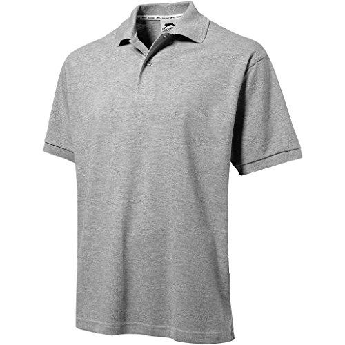 Slazenger - Polo - - Col boutonné Homme Gris Grey - Sports Grey