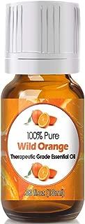 Wild Orange Essential Oil for Diffuser & Reed Diffusers (100% Pure Essential Oil) 10ml