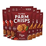 ParmCrisps Pizza, 1.75 Ounce (Pack of 6), Keto Snacks, 100% Cheese Crisps, Gluten Free, Sugar Free,...